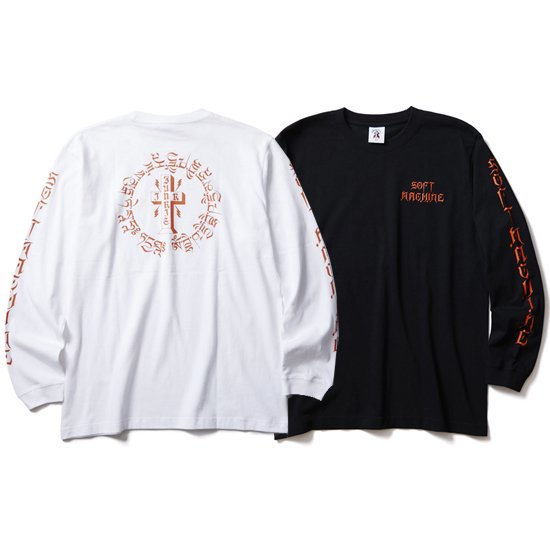 【SOFT MACHINE】OTHER WORLD L/S SHIRTS【ロンティー】