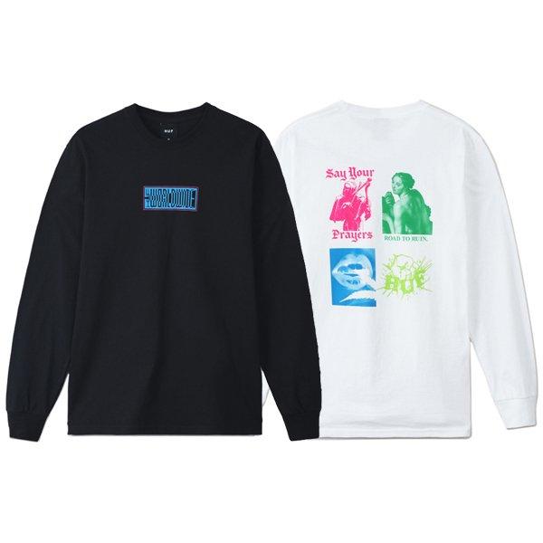 【HUF/ハフ】DEJA VU L/S TEE【ロングスリーブTシャツ】