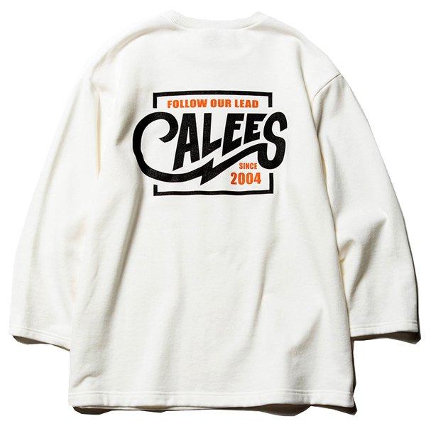 CALEE 【40%off】3/4 SET IN SLEEVE SWEAT