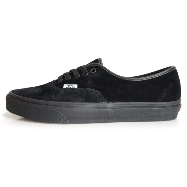 【VANS】AUTHENTIC PIG SUEDE [BLACK/BLACK]【シューズ・スニーカー・靴】