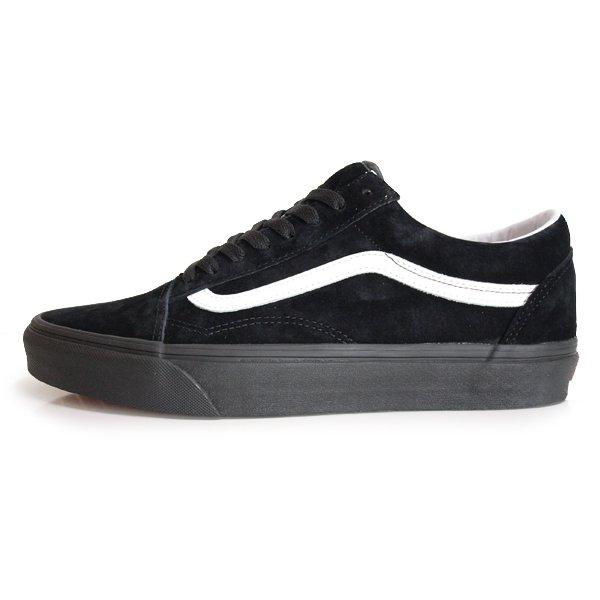 【VANS】OLD SKOOL PIG SUEDE [BLACK/BLACK]【シューズ・スニーカー・靴】