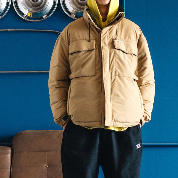 RADIALL LAPAZ - STAND COLLARED DOWN JACKET/STAMMBAUM