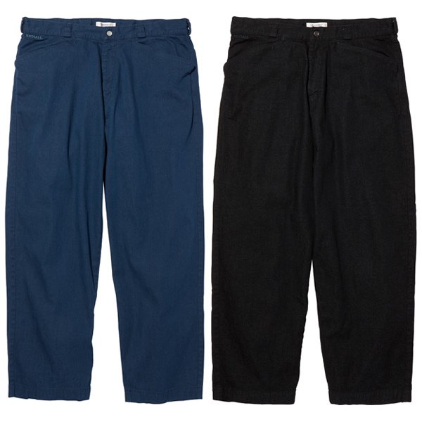 【RADIALL】MOON STOMP - WIDE FIT WORK PANTS【ワークパンツ】
