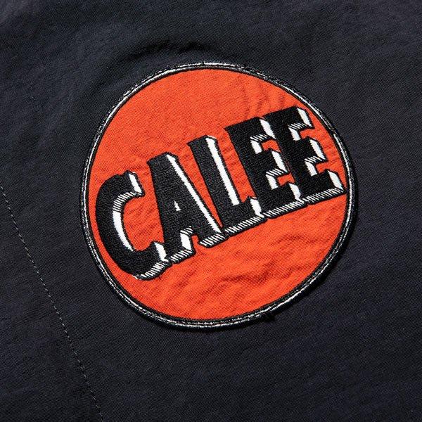CALEE NYLON COACH WAPPEN JACKET
