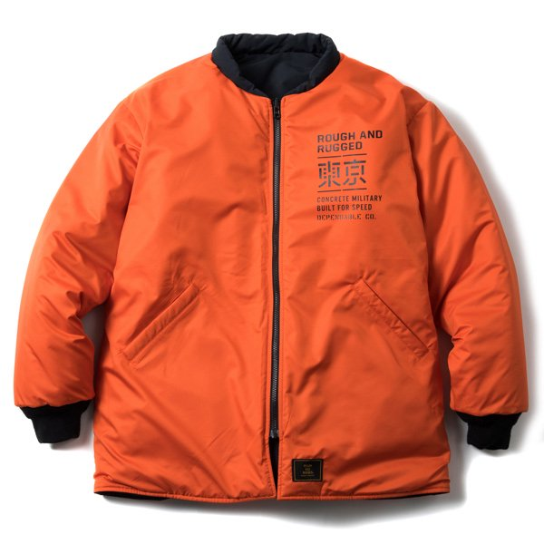 ROUGH AND RUGGED CHAMBER JACKET