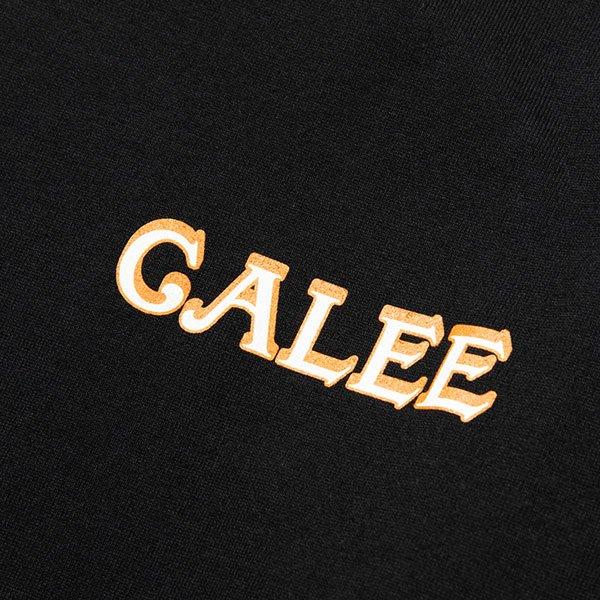 CALEE MULTI PRINT L/S T-SHIRT