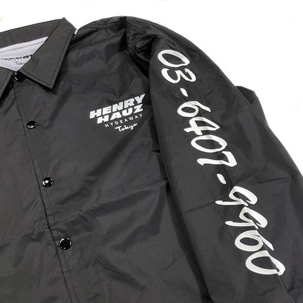 ROUGH AND RUGGED HENRY HAUZ LOGO COACH JKT