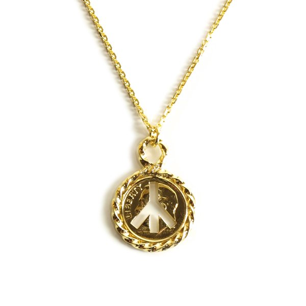 RADIALL TWIST - NECKLACE / 18K PLATED