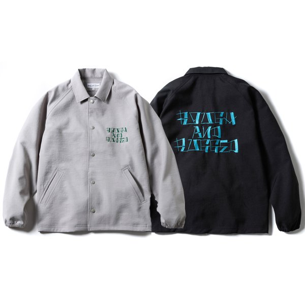 【ROUGH AND RUGGED】VISION COACH JACKET【コーチジャケット】