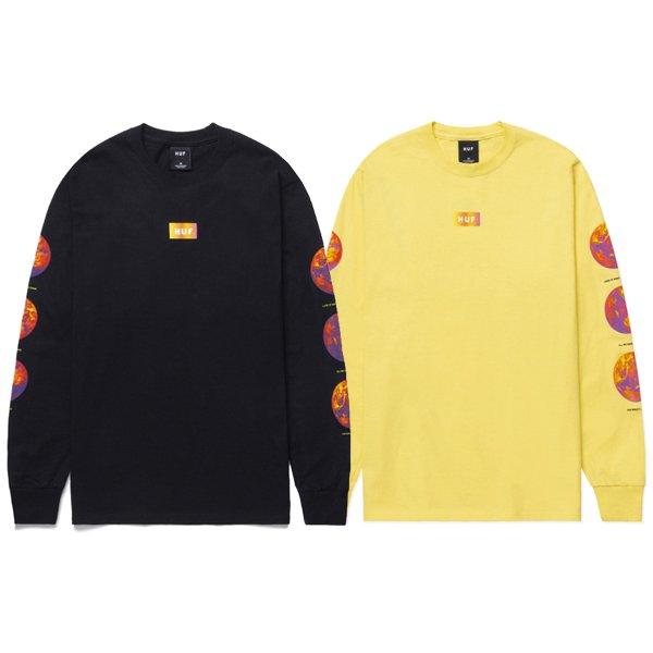 【HUF/ハフ】CLIMATE MELTDOWN L/S TEE【ロングスリーブTシャツ】