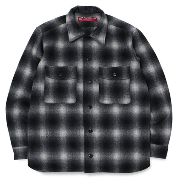 【HideandSeek】WOOL CHECK SHIRT【ウールチェックシャツ】
