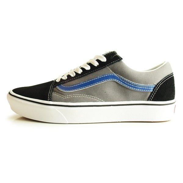 【VANS】 COMFYCUSH OLD SKOOL TRI-TONE[BLACK/PEWTER]【シューズ・スニーカー・靴】