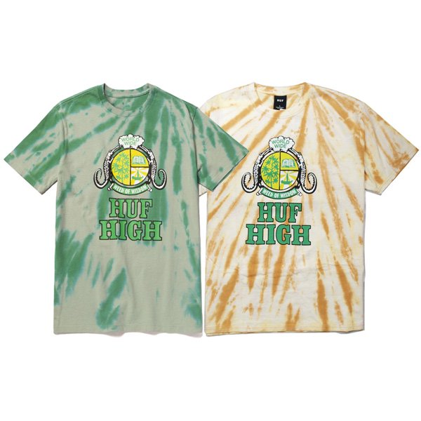 【HUF/ハフ】HAZE HANDSTYLE 2 S/S TEE【Tシャツ】