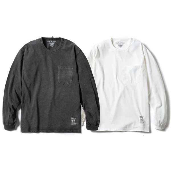 【ROUGH AND RUGGED】MIL LS TEE【ロングスリーブTシャツ】