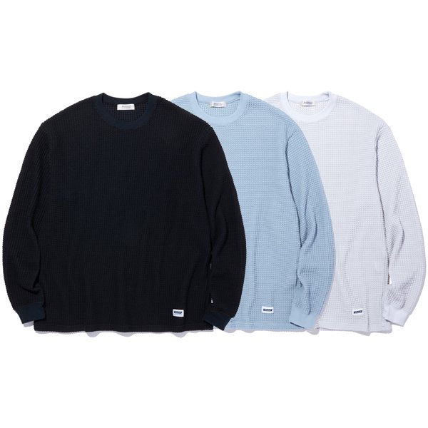 【RADIALL】BIG WAFFLE - CREW NECK T-SHIRT L/S【カットソー】
