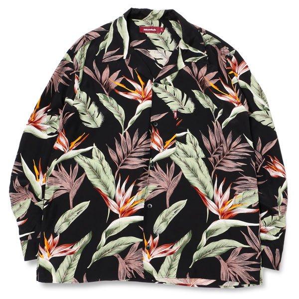 【HideandSeek】HAWAIIAN L/S SHIRT【ハワイアンレーヨンシャツ】