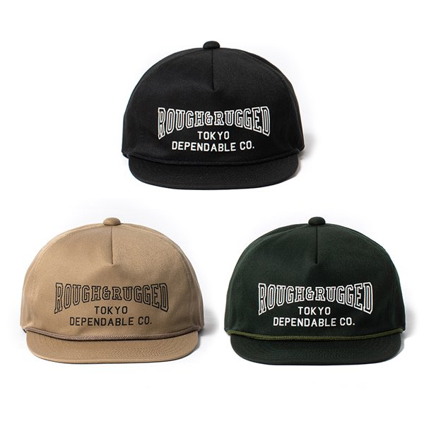 【ROUGH AND RUGGED 】DESIGN CAP/WORK 【キャップ】