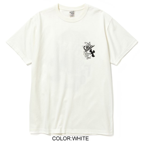 CALEE COTTON EAGLE T-SHIRT