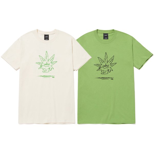 【HUF/ハフ】EASY GREEN S/S TEE【Tシャツ】