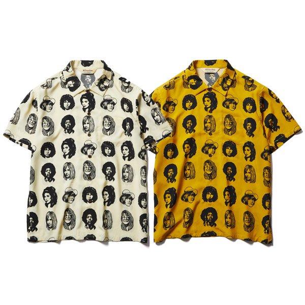 【SOFT MACHINE】TWENTY SEVEN SHIRTS S/S【レーヨンシャツ】