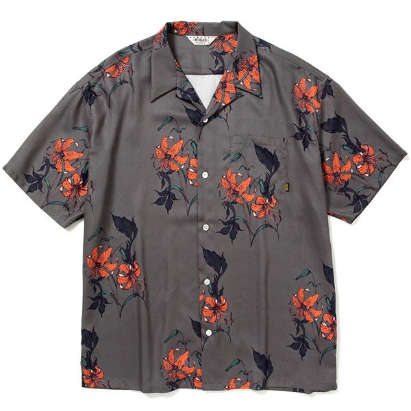 【CALEE】ALLOVER FLOWER PATTERN S/S SHIRT【オープンシャツ】