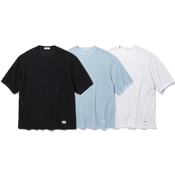 【RADIALL】BIG WAFFLE - CREW NECK T-SHIRT S/S【カットソー】