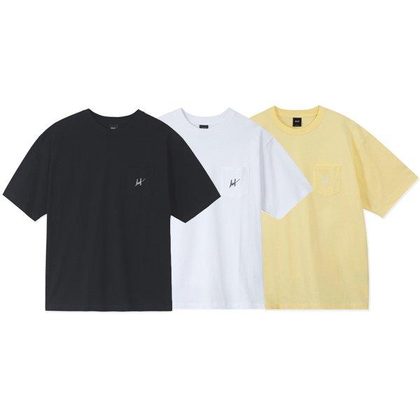 【HUF/ハフ】BOX LOGO POCKET S/SL TEE【ポケTシャツ】