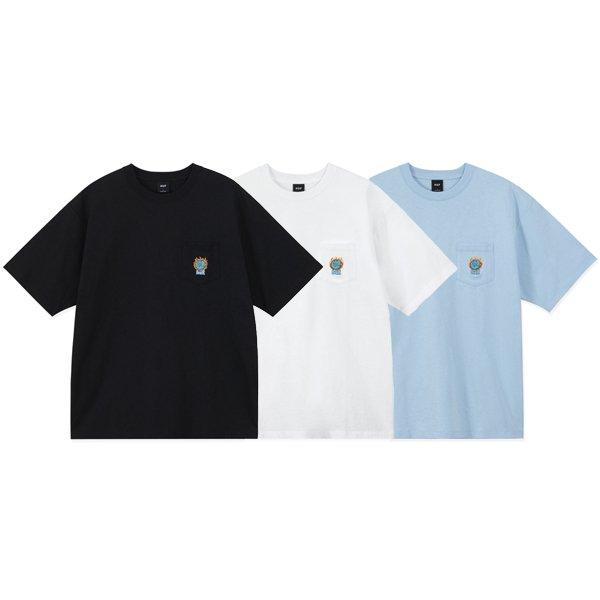【HUF/ハフ】GLOBAL WARMING POCKET S/SL TEE【ポケTシャツ】