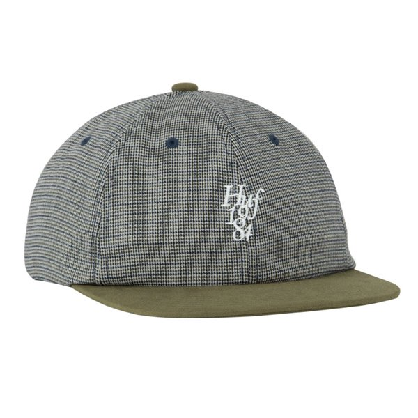 【HUF/ハフ】MICRO HOUNDSTOOTH 6 PANEL HAT【キャップ】