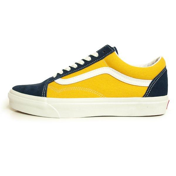 【VANS】OLD SKOOL CLASSIC SPORT DRESS BLUES/SAFFRON【シューズ・スニーカー・靴】