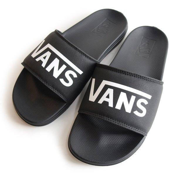 【VANS / バンズ】 MN LA COSTA SLIDE-ON [VANS BLACK]【サンダル】