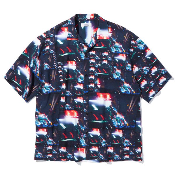 【RADIALL/ラディアル】LOW AND SLOW- OPEN COLLARED SHIRT S/S【レーヨンシャツ】