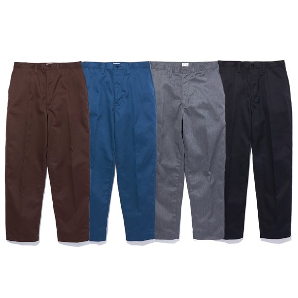 【RADIALL/ラディアル】CONQUISTA - SLIM TAPERED FIT PANTS【ワークパンツ】