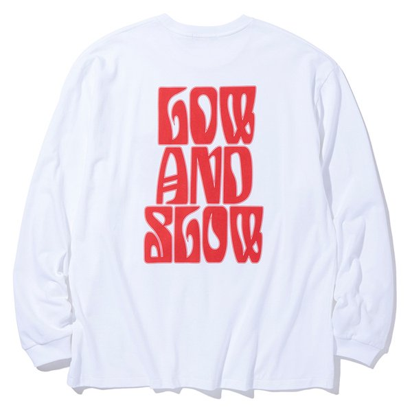 RADIALL LO-N-SLO - CREW NECK T-SHIRTS L/S
