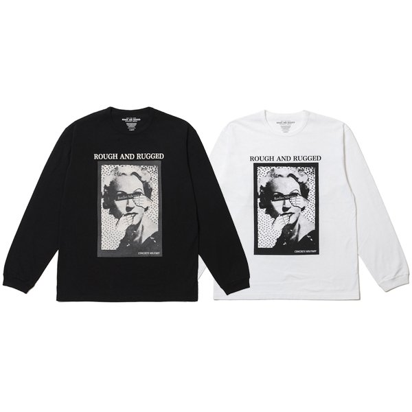 【ROUGH AND RUGGED】DESIGN LS/DEPENDABLE.CO L/S TEE【ロングスリーブTシャツ】