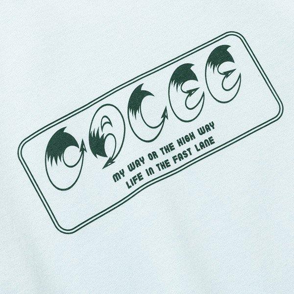CALEE CALEE BOX LOGO L/S T-SHIRT