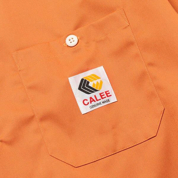 CALEE T/C TWILL L/S WORK SHIRT