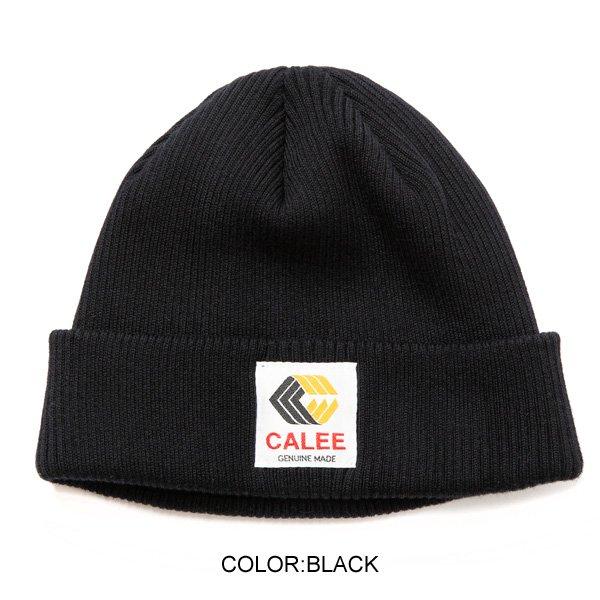 CALEE COTTON KNIT CAP