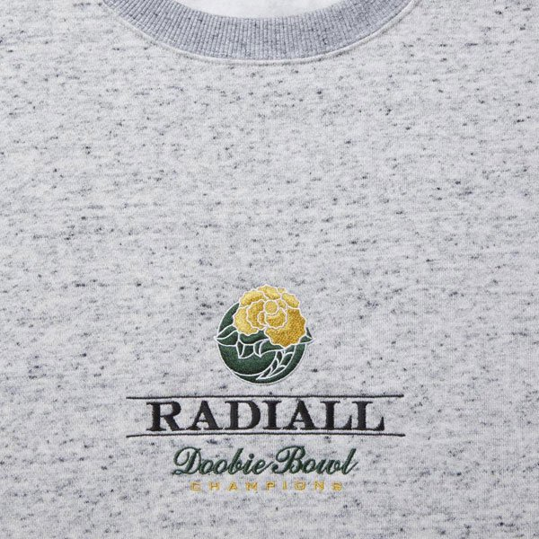 RADIALL DOOBIE - CREW NECK SWEATSHIRT L/S