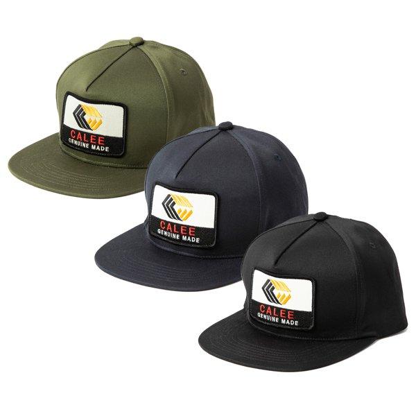 【CALEE】WEST POINT CALEE LOGO WAPPEN CAP【キャップ】