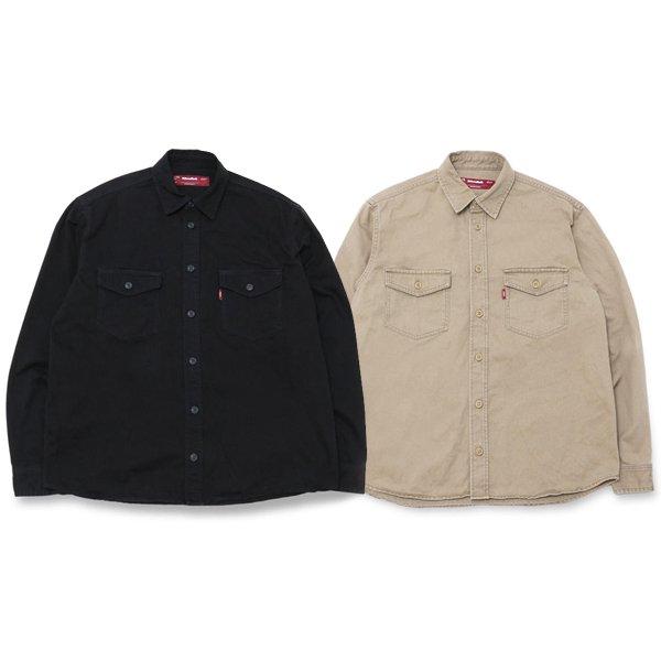 【HideandSeek】WASHED TWILL SHIRT【ツイルシャツ】