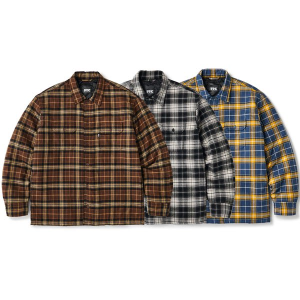 【FTC】QUILTED LINED PLAID NEL SHIRT【ネルシャツジャケット】