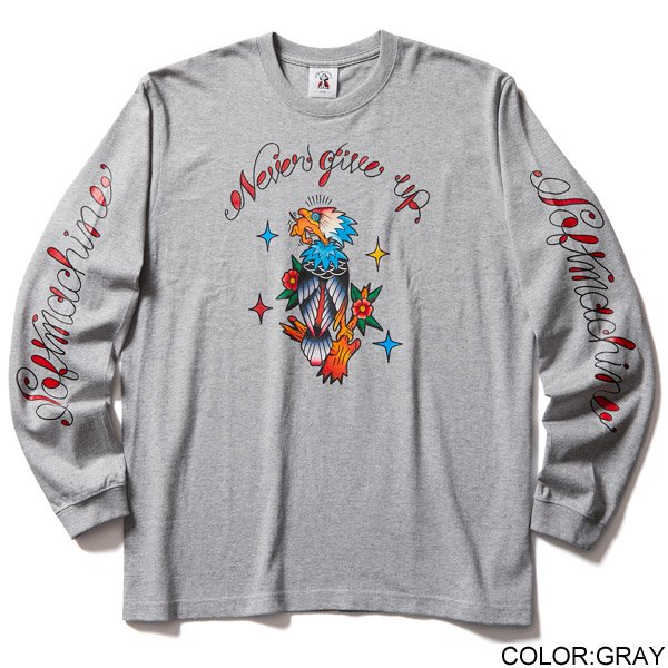 SOFT MACHINE NEVER GIVE UP L/S TEE