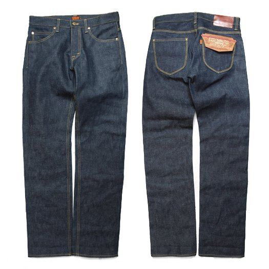 CALEE FIVE POCKET SLIM DENIM