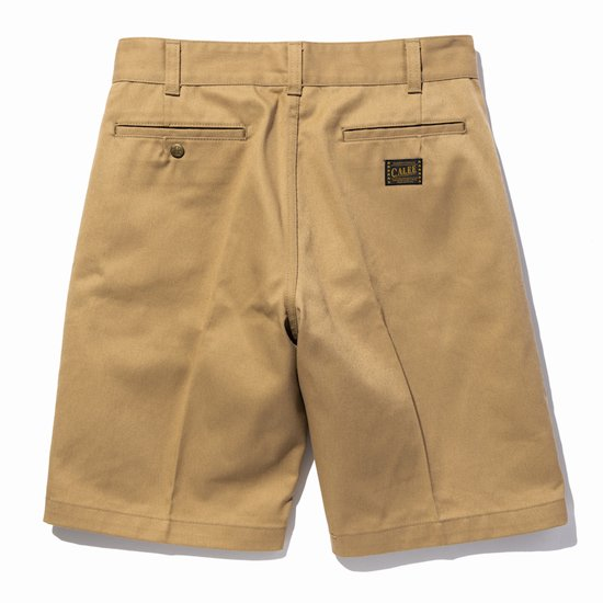 CALEE T/C TWILL CHINO SHORT PANTS