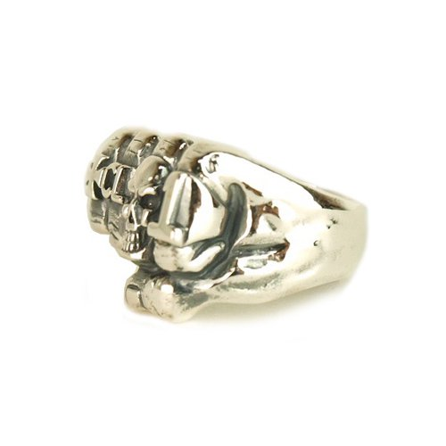 CALEE ACCESSORY KNUCKLE RING (SILVER)