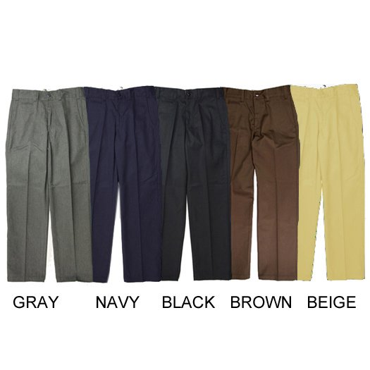 【CALEE】T/C TWILL CHINOS PANTS