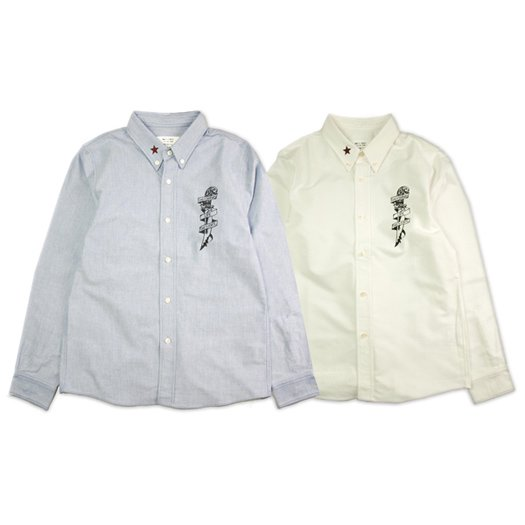 【ONE'S FORTE ORIGINAL】LEAD A CHARMED LIFE OX SHIRT【オックスフォードシャツ】