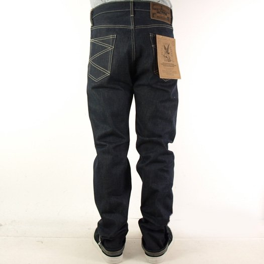 ROUGH AND RUGGED EDGE DENIM PANTS