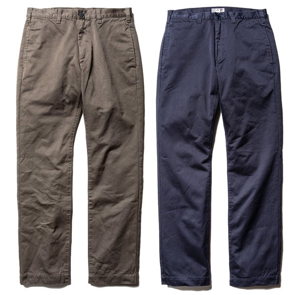 【CALEE】WASHED WEST POINT SLIM CHINO PANTS【スリムチノ】